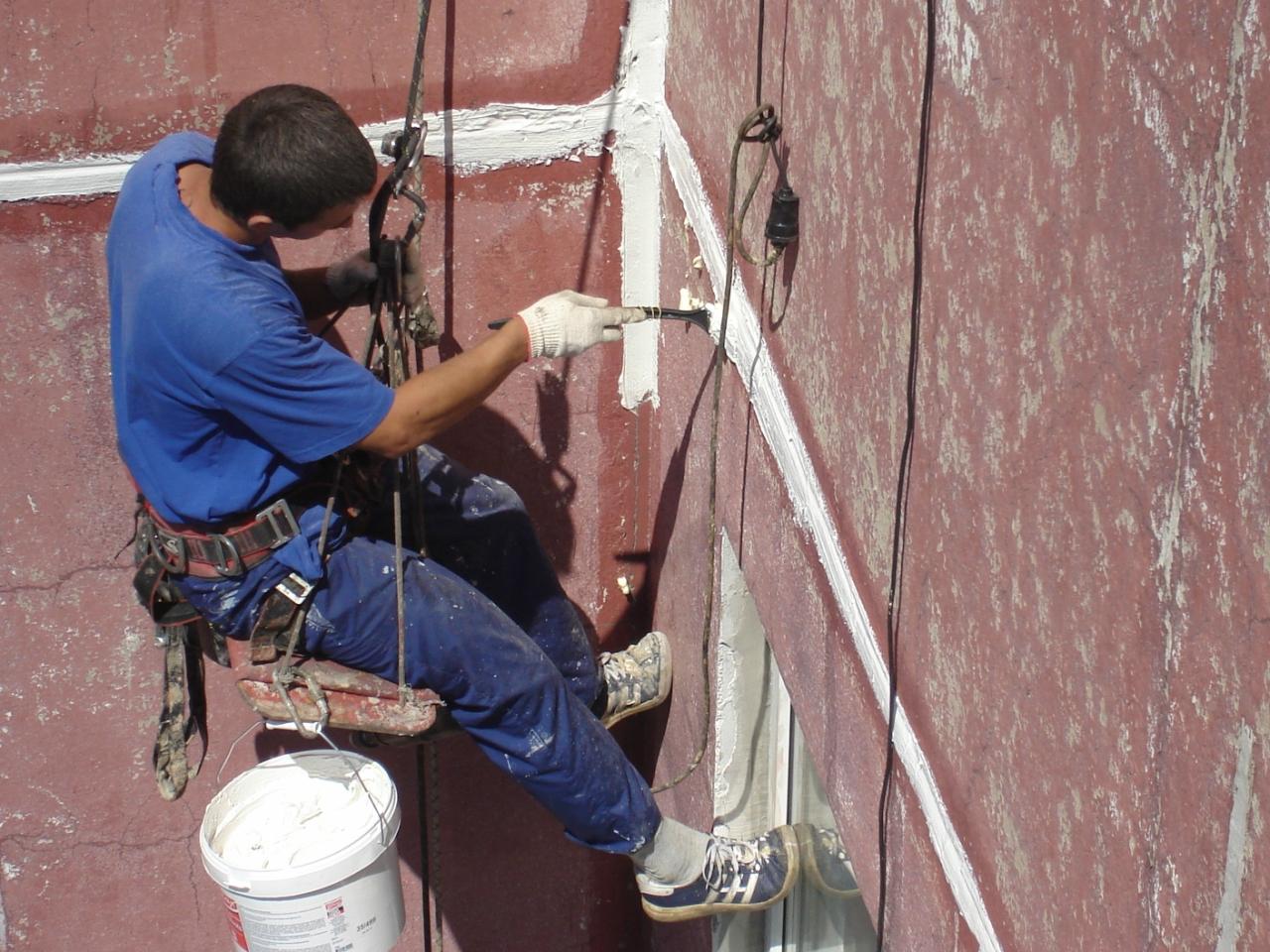 Бригада для герметизации межпанельных швов и ремонту балконн.